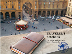 MIDORIブランドの「TRAVELER'S notebook」