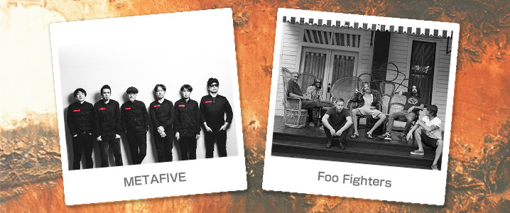 METAFIVE & Foo Fighters