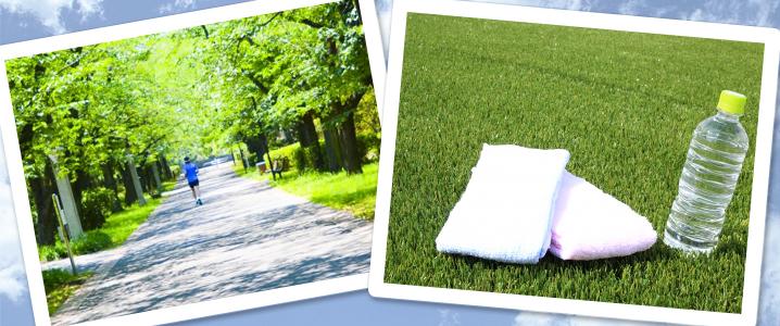 ジョギング月間レポート