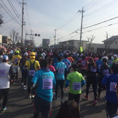 2017そうじゃ吉備路マラソンスタート