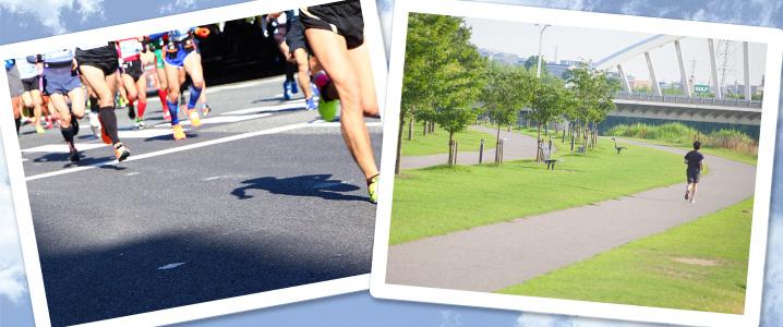 練習とレース