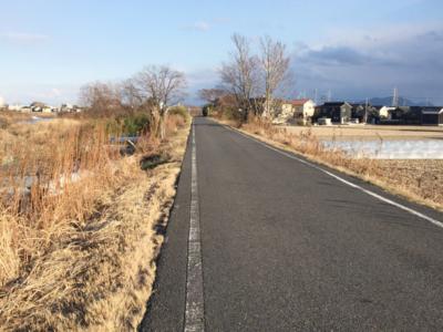 ランニングコース_足守川と笹ヶ瀬川合流地点
