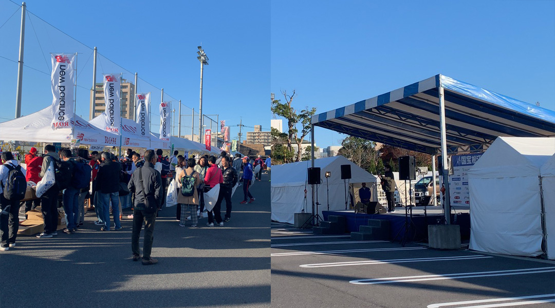 国宝松江城マラソン2019イベントスペース
