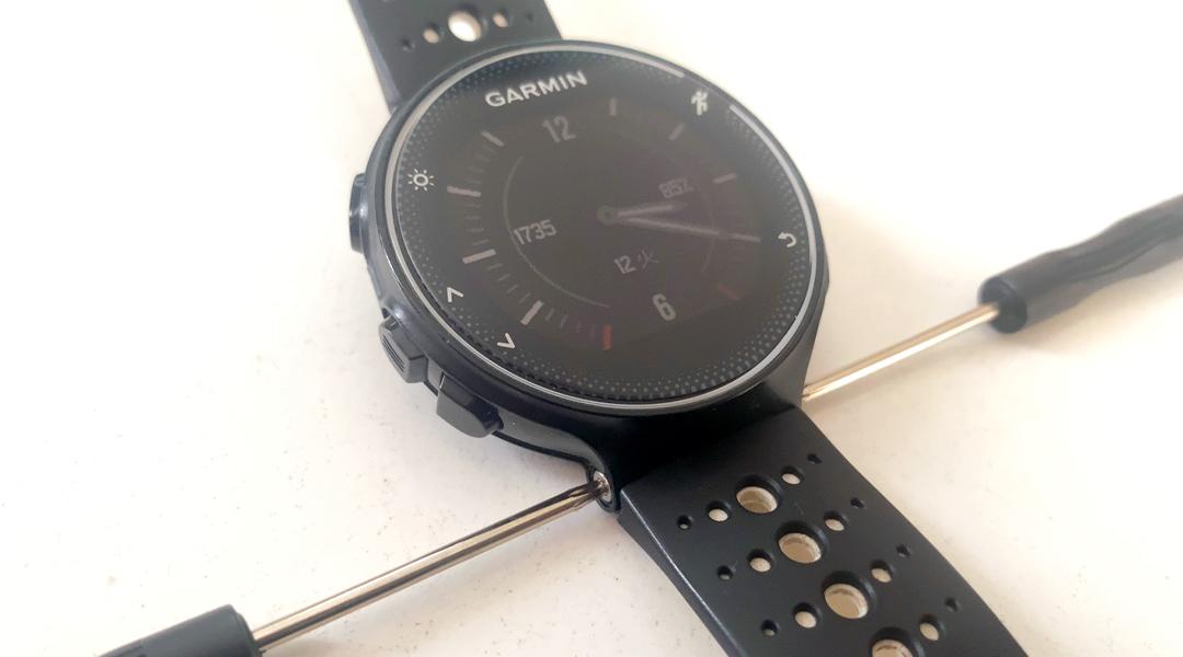 GARMIN ForeAthlete®230J ベルト交換