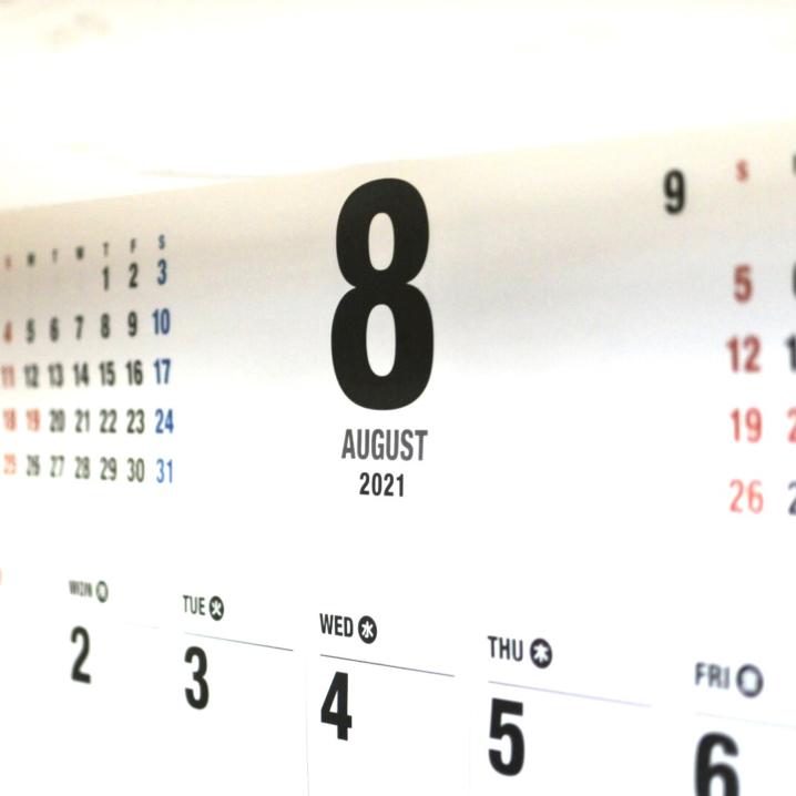 ランニングレポート【2021年8月】